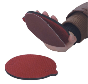 Foam pad with velcro
