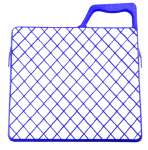 Plastic bucket grid