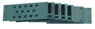 Magnetic lock for tile