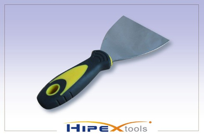 Putty Knives with Professional Soft Rubber Handle (0612101)