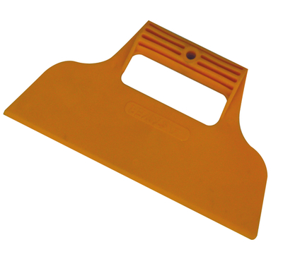 Plastic wallpaper scraper