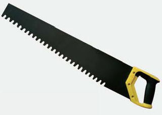 Hand saw for brick
