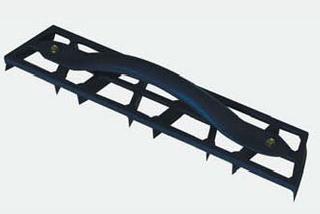 Steel palisade trowel